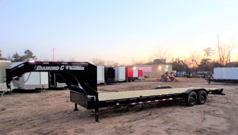 2021 Diamond C Trailers 82 x 28 LPX-210 Gooseneck Equipment Trailer