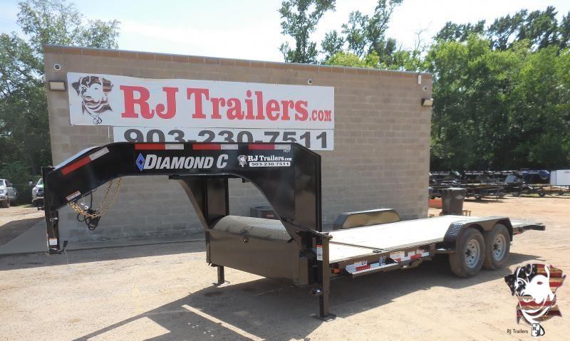 2020 Diamond C Trailers 82 x 20 HDT207 Gooseneck Equipment Trailer