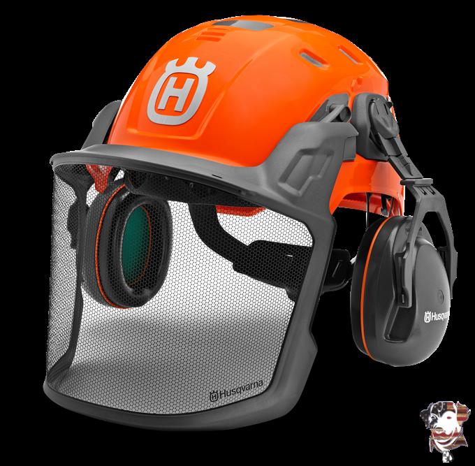 2021 Husqvarna Technical Forest Helmet Accessories