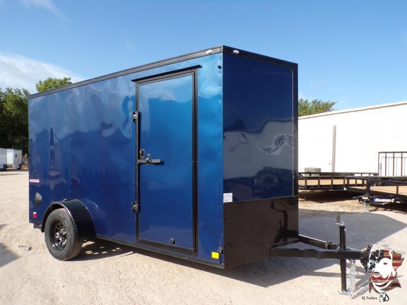 2021 Cargo Mate 6 x 12 E-Series SA Enclosed Cargo Trailer