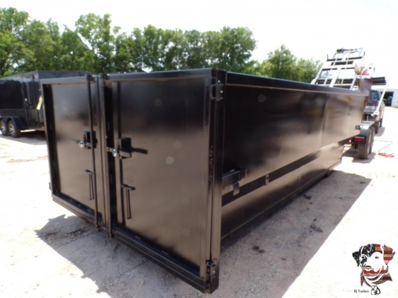 2020 Texas Pride Trailers 17 Yard Containers Material Handling
