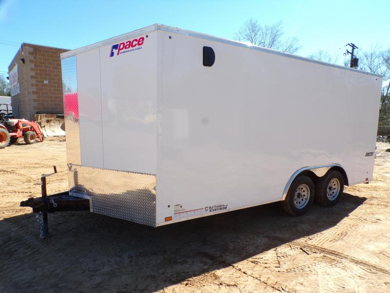 2022 Pace American 8.5 x 16  Journey SE Enclosed Cargo Trailer
