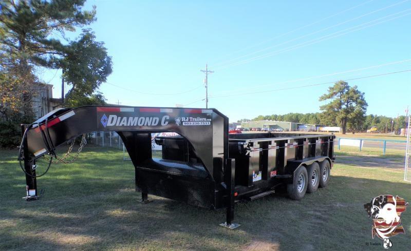 2021 Diamond C Trailers 82 x 16 LPT Dump Trailer