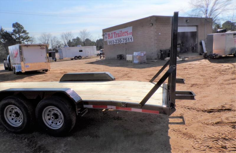 2021 TexLine 83 x 20 Bobcat Equipment Trailer