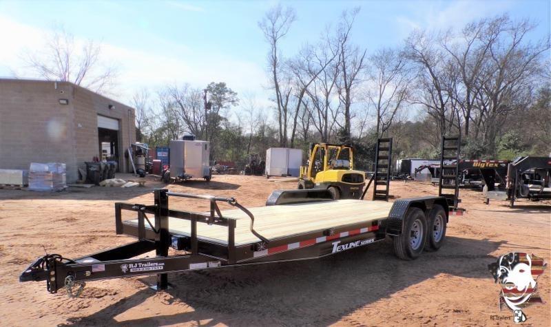 2021 TexLine 83 x 20 Bobcat Equipment Trailer
