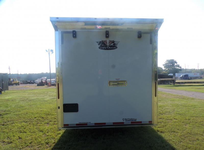 2022 Vintage Trailers 8.5 x 34 Pro Stock Car / Racing Trailer