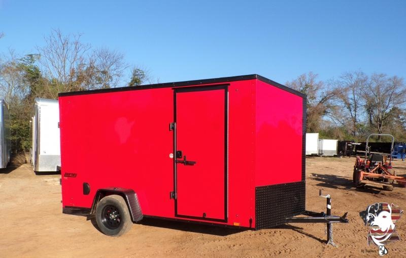2022 Pace American 6 x 12 Journey Slanted V-Nose Cargo Trailer