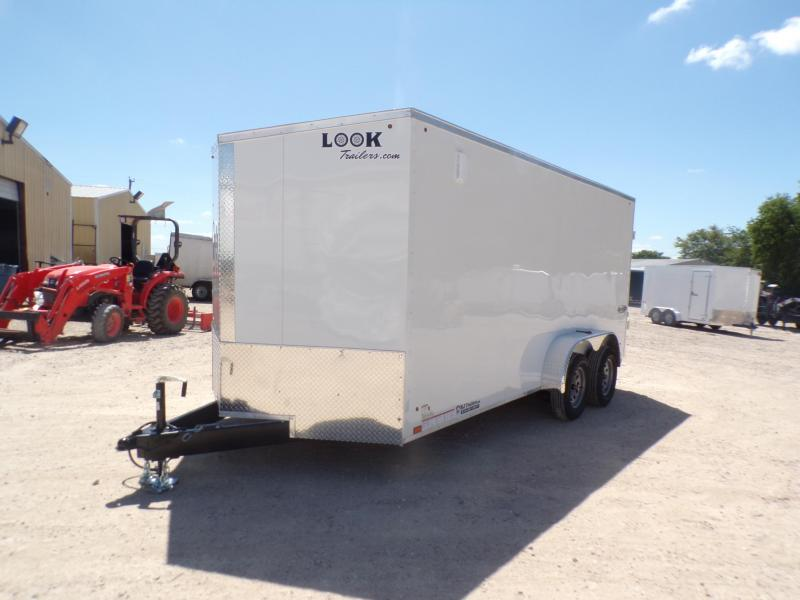 2020 Look Trailers 7 X 16 Element TA Enclosed Cargo Trailer