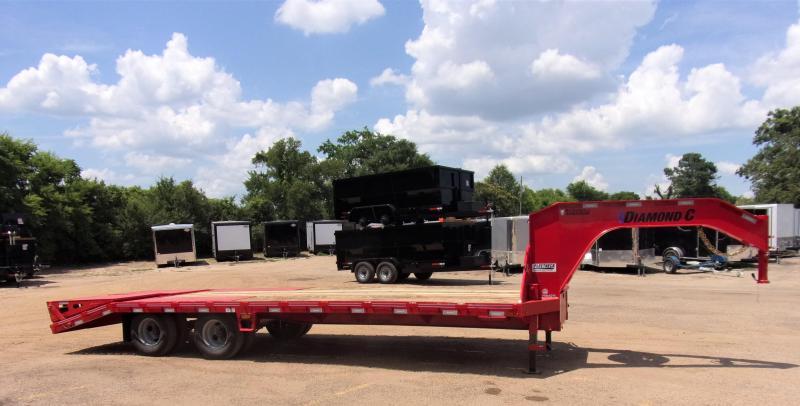 2020 Diamond C Trailers 102 X 25 FMAX210 Equipment Trailer