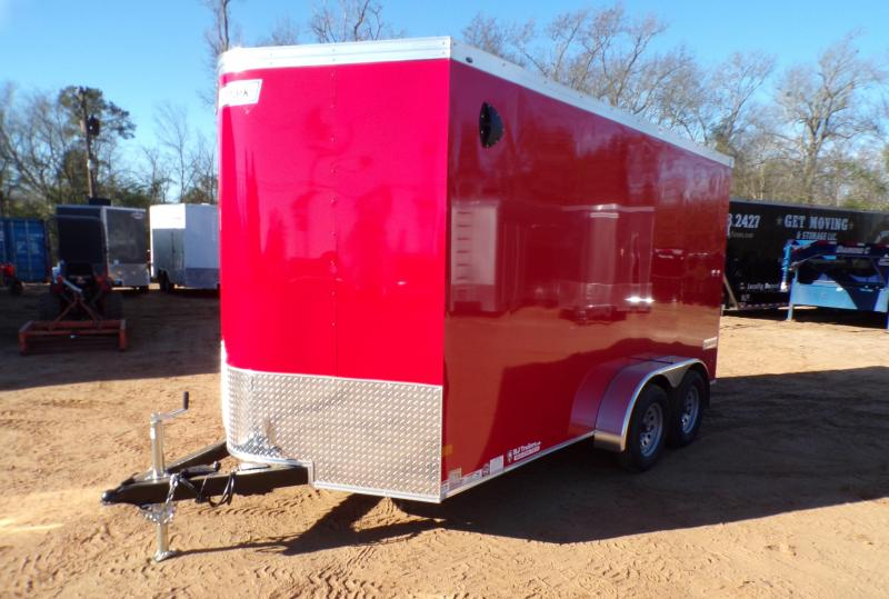 2021 Haulmark 7 x 14 Transport V-Nose Enclosed Cargo Trailer