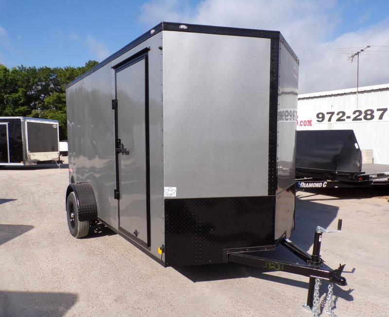 2021 Continental Cargo 6 x 12 SA E-Series Enclosed Cargo Trailer