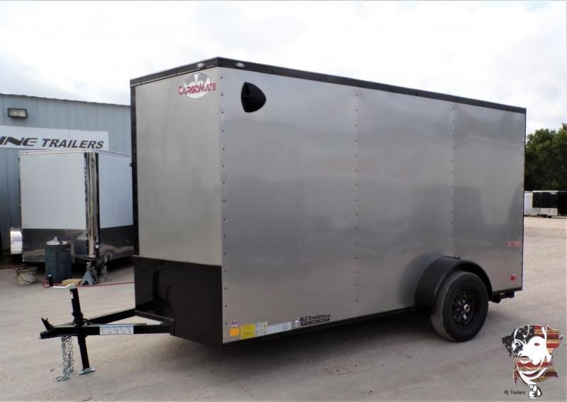 2021 Continental Cargo 6 x 12 SA E-Series Enclosed Cargo Trailer