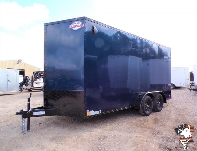 2022 Cargo Mate 7 x 16 E-Series Enclosed Cargo Trailer