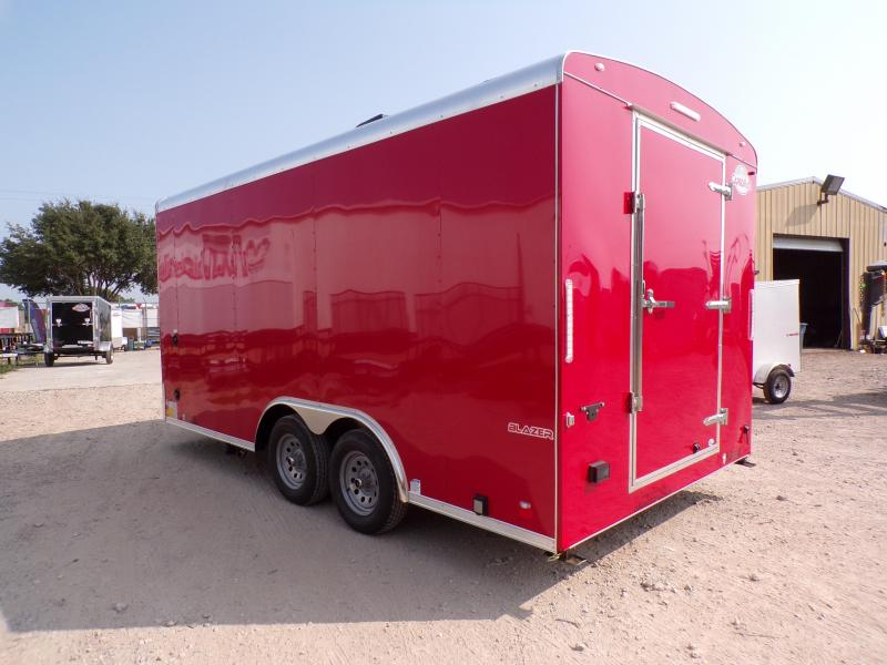 2021 Cargo Mate 8.5 x 16 Cargo Mate Blazer Concession / Vending Trailer