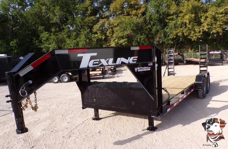 2020 TexLine 82 x 20 Bobcat Gooseneck Equipment Trailer