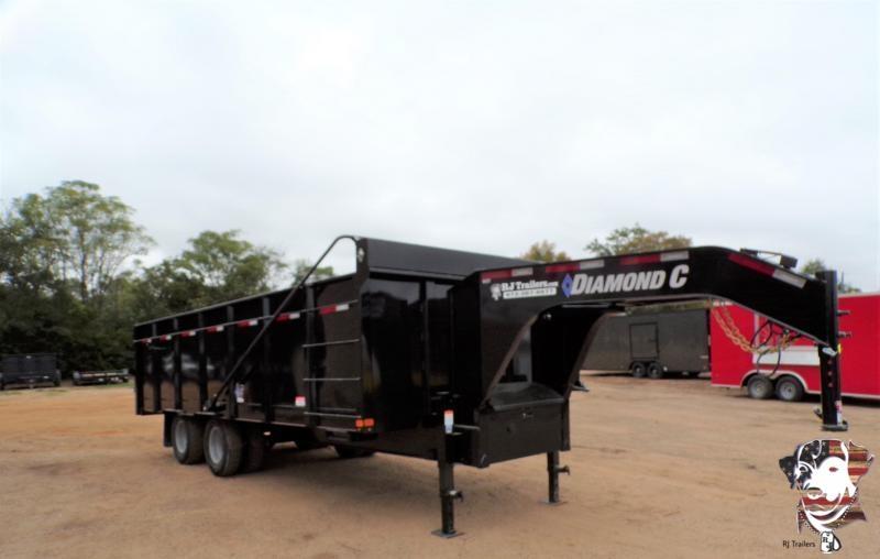 2020 Diamond C Trailers 96 x 20 WDT Dump Trailer