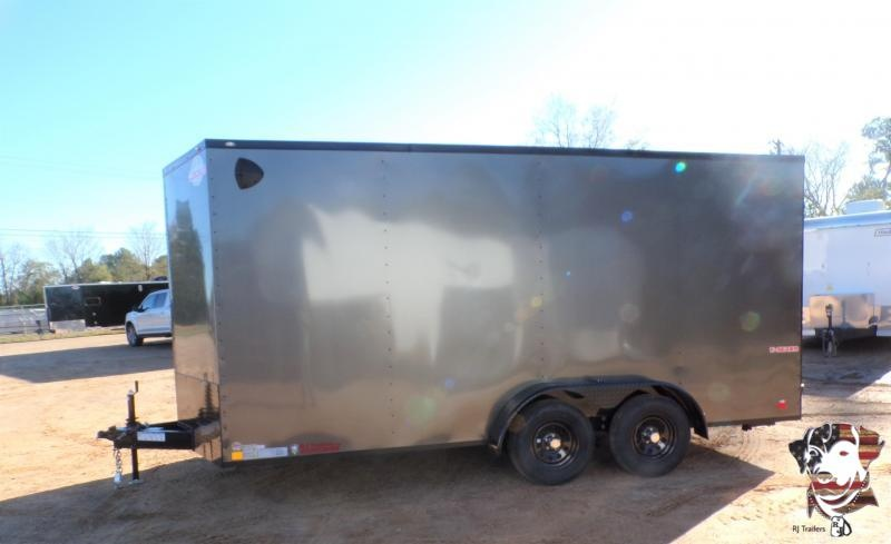 2021 Cargo Mate 7 x 16 E-Series Enclosed Cargo Trailer