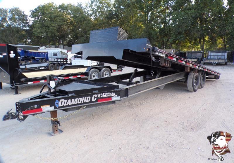 2020 Diamond C Trailers 102 x 24 DET Flatbed Trailer