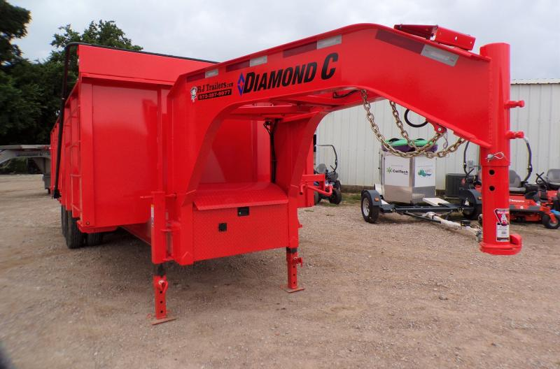2021 Diamond C Trailers 96 x 20 WDT 212 Dump Trailer