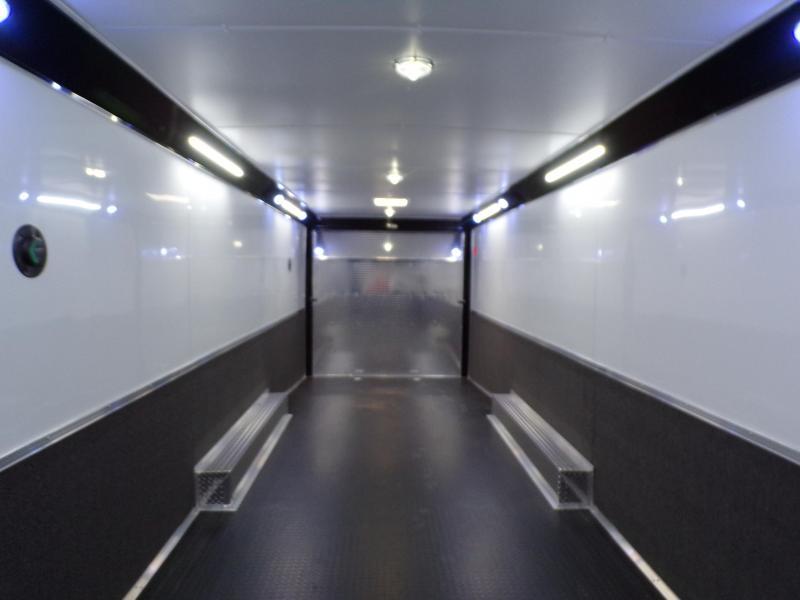 2021 Cargo Mate 8.5 x 32 Eliminator Car / Racing Trailer