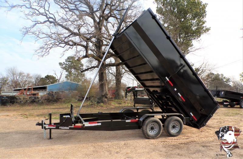 2021 Texas Pride Trailers 82 x 16 Telescopic Bumper Pull  Dump Trailer