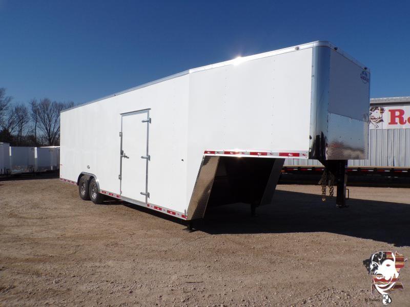 2021 Cargo Mate 8.5 x 32 Gooseneck Enclosed Cargo Trailer
