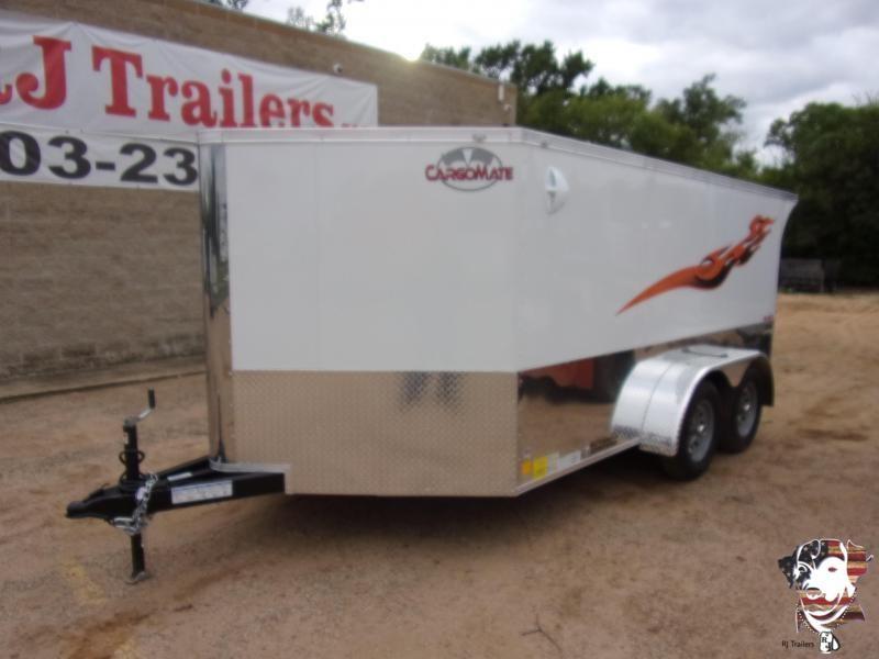 2021 Cargo Mate 7 x 12 Low Hauler Motorcycle Trailer
