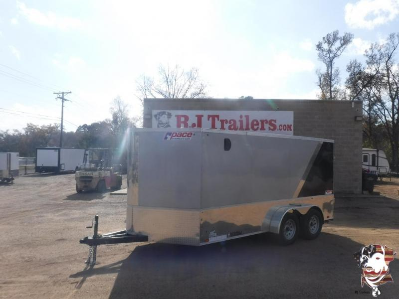 2020 Pace American 7 x 14 Low Hauler Motorcycle Trailer