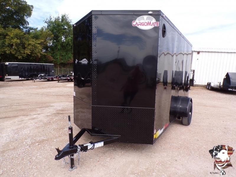 2021 Continental 6 x 12 E-Series SA Enclosed Cargo Trailer