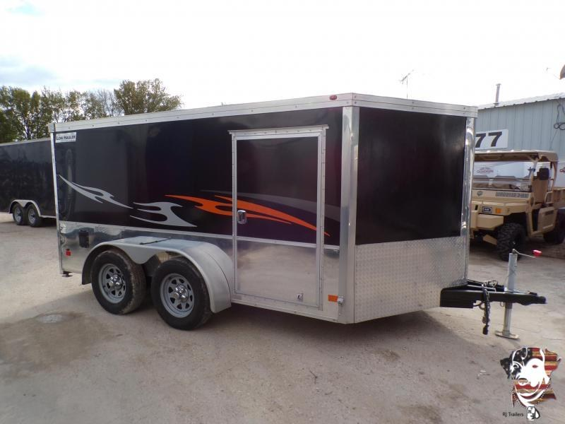 2017 Haulmark 7 x 12 Low Hauler Enclosed Cargo Trailer