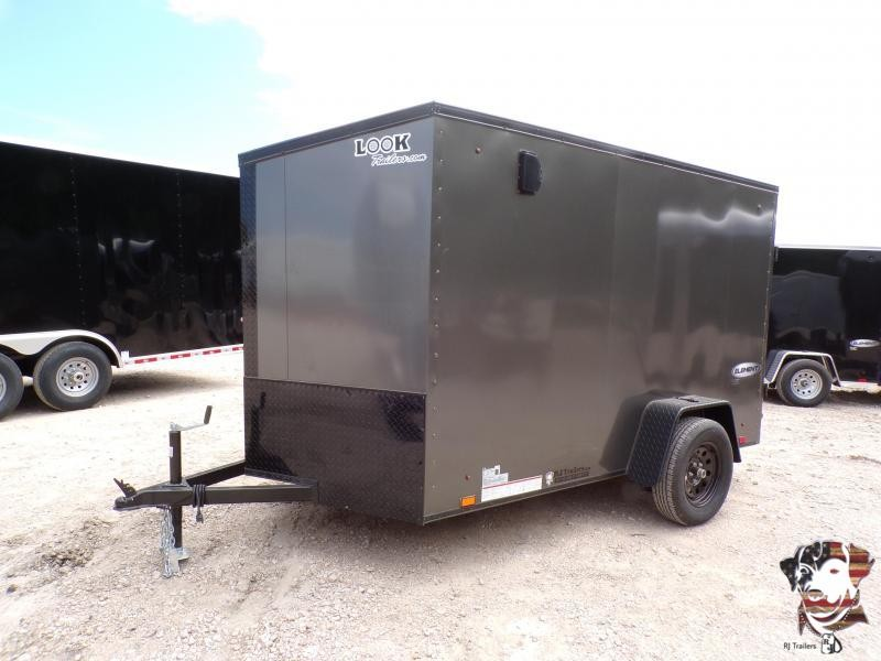 2022 Look Trailers 6 X 12 Element Enclosed Cargo Trailer