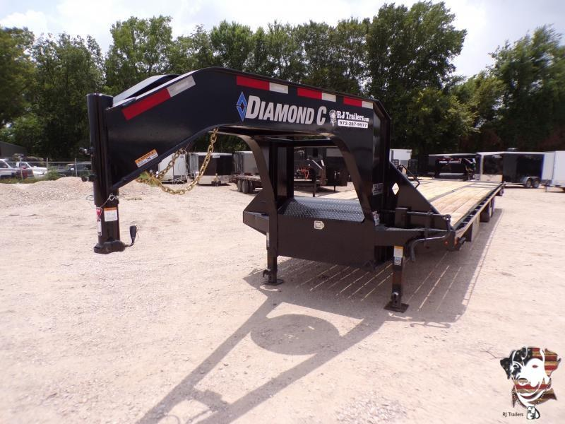 2020 Diamond C Trailers 102 x 40 FMAX212 Equipment Trailer