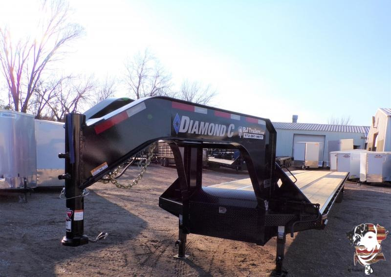 2021 Diamond C Trailers 102 x 40 FMAX 210 Flatbed Trailer