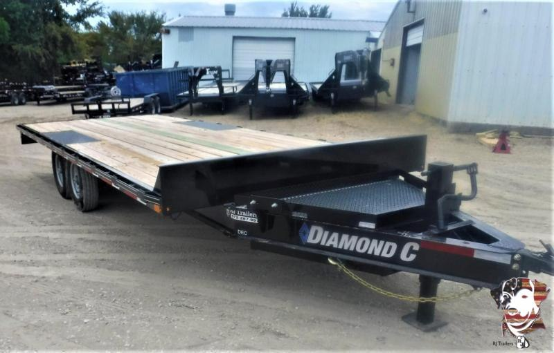 2020 Diamond C Trailers 102 x 20 DEC207 Equipment Trailer