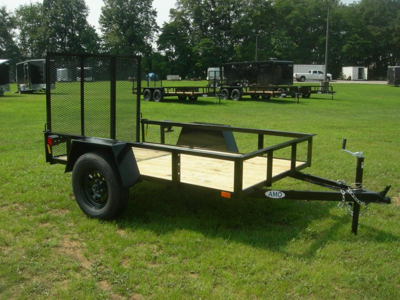 2021 American Manufacturing Operations (AMO) US5x8LS Utility Trailer