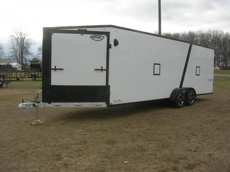 2021 Impact Trailers IASQB7x29TE2FF Snowmobile Trailer