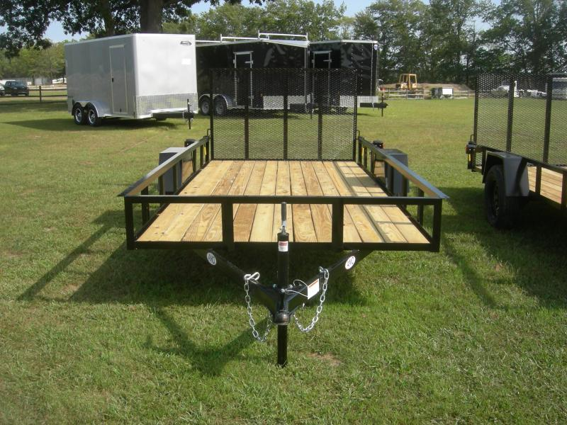 2021 American Manufacturing Operations (AMO) US76x14LS Utility Trailer