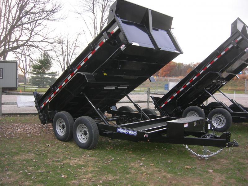 2021 Sure-Trac ST8212DD-B-120 Dump Trailer