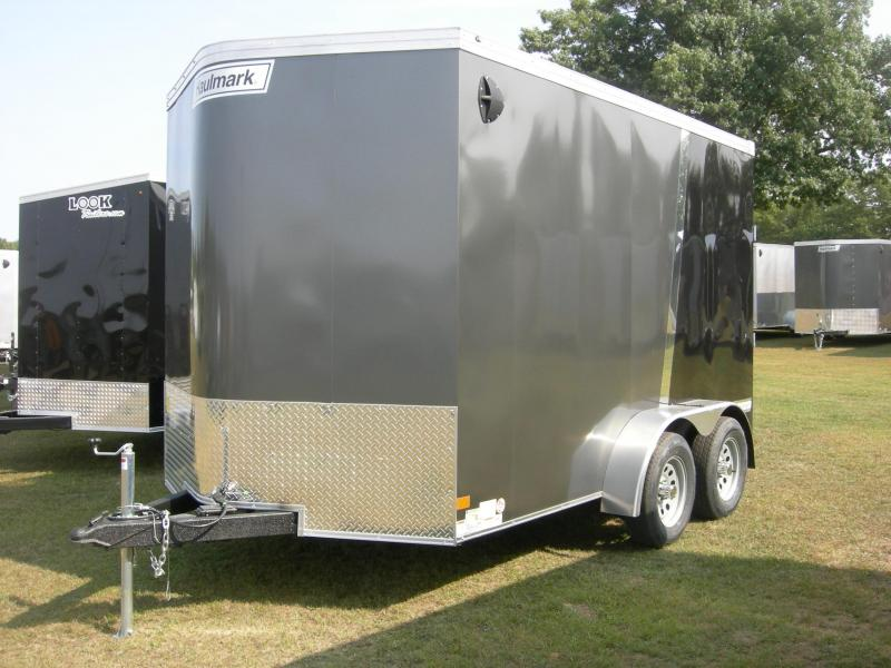 2021 Haulmark TSV7x12T2 Enclosed Cargo Trailer