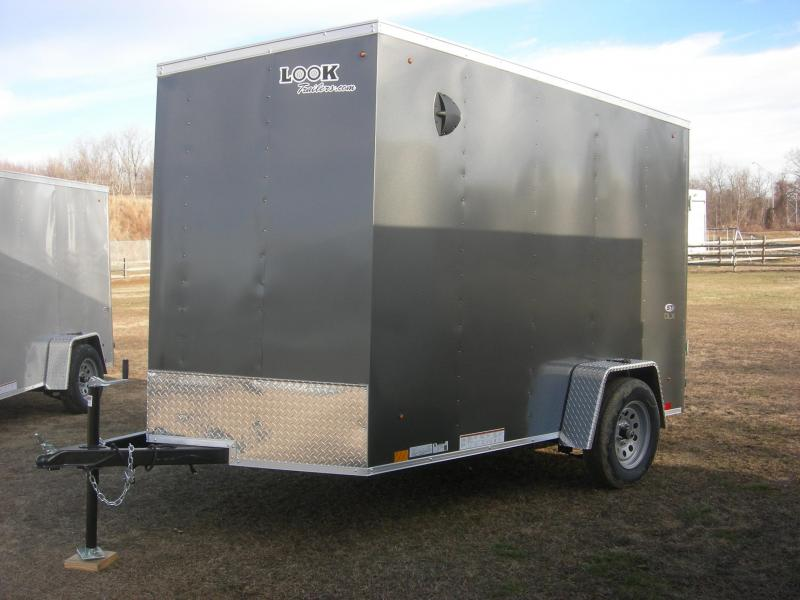 2021 Look Trailers LSCAB6x10SI2 Enclosed Cargo Trailer