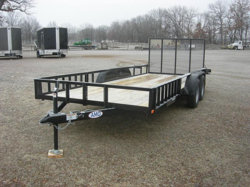 2021 American Manufacturing Operations (AMO) UT 76x18 Landscape/ATV ATV Trailer