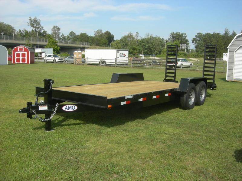2021 American Manufacturing Operations (AMO) UG82x20' Equipment Equipment Trailer