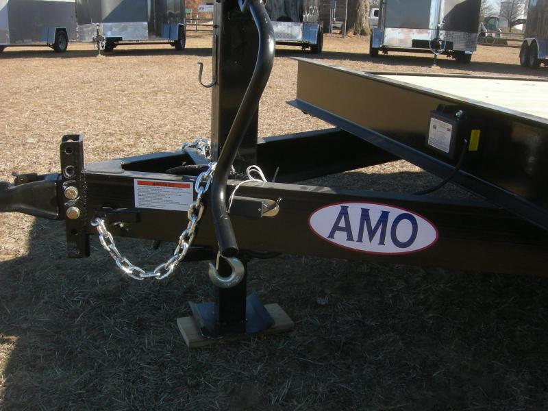 2021 American Manufacturing Operations (AMO) UG82x20 Car Hauler Car / Racing Trailer