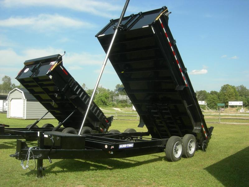 2022 Sure-Trac ST8216DD Dump Trailer