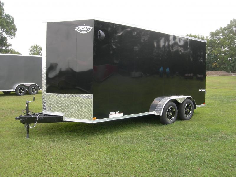 2021 Impact Trailers ISCDA7x16TE2 Enclosed Cargo Trailer