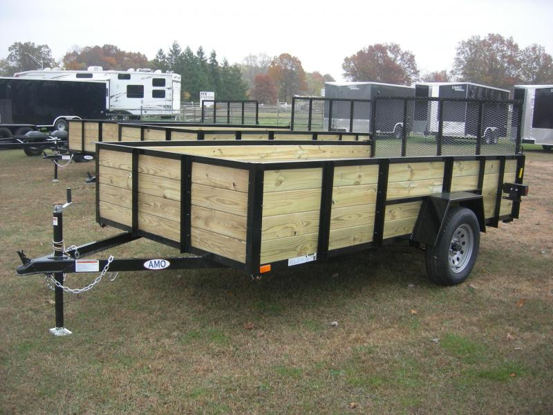 2021 American Manufacturing Operations (AMO) US 76x12HS Utility Trailer