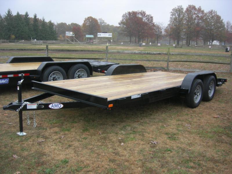 2021 American Manufacturing Operations (AMO) UT 82x18' Car Hauler Car / Racing Trailer
