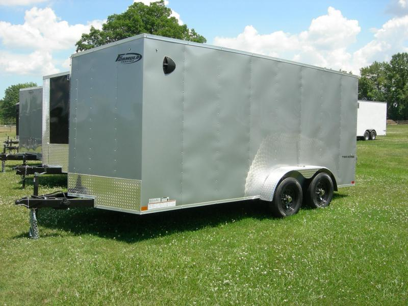 2021 Formula Trailers FSCAA7x16TE2 Enclosed Cargo Trailer