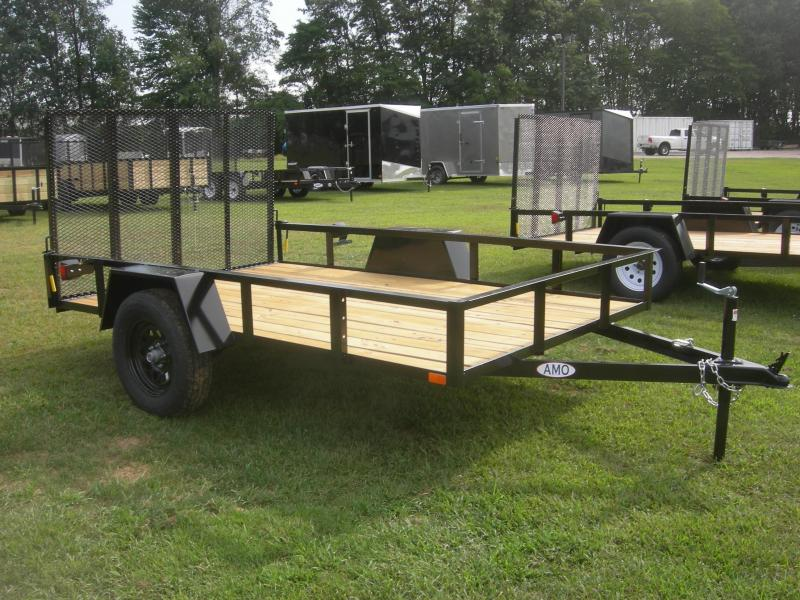 2021 American Manufacturing Operations (AMO) US76x10LS Utility Trailer