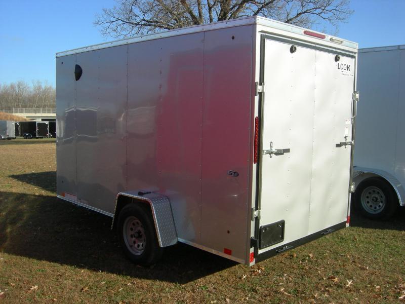 2021 Look Trailers LSCAB6x12Si DLX Enclosed Cargo Trailer